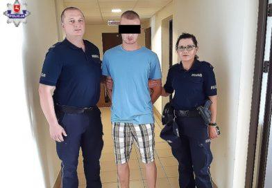 TOMASZÓW Sprawca rozboju w rękach policji