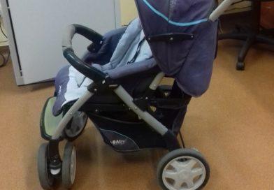 TOMASZÓW Znaleziono wózek dziecięcy