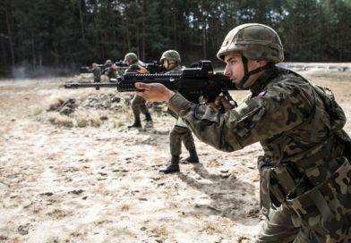 INFO Lubelscy Terytorialsi podsumowują szkolenie  na poligonie w Nowej Dębie