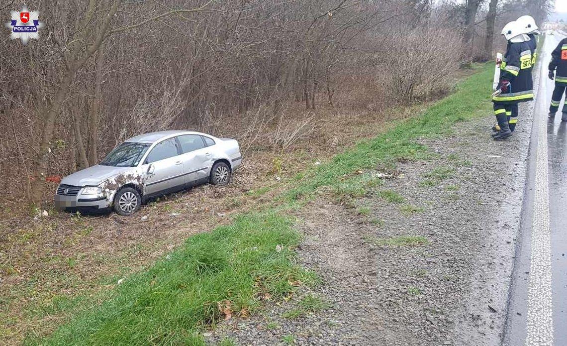 SABAUDIA Straciła panowanie nad pojazdem, zjechała z drogi, a następnie dachowała
