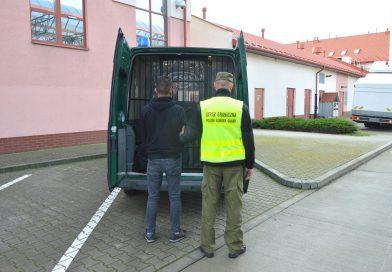 HREBENNE Nielegalny migrant z Turcji zatrzymany przez Straż Graniczną