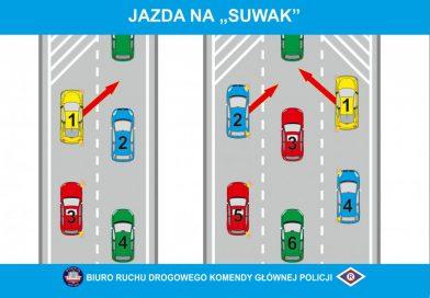 """NA SYGNALE Korytarz życia i jazda na """"suwak"""" – zmiany w ustawie Prawo o ruchu drogowym"""