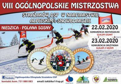 INFO Ruszyły strażackie zapisy na mistrzostwa kraju w narciarstwie i snowboardzie.