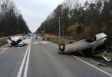 NA SYGNALE Wypadek w miejscowości Dąbrowa Tarnawacka