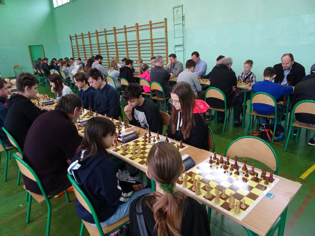 NASZ PATRONAT VI Międzynarodowy Turniej Szachowy  - II Memoriał Szymona Łuczki