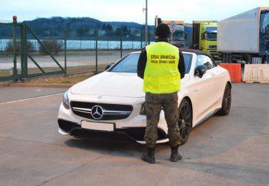 HREBENNE Odzyskano Mercedesa AMG o wartości pół miliona zł