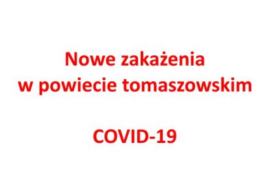 66 nowych zakażeń w powiecie tomaszowskim