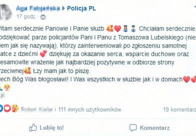 TOMASZÓW Podziękowania dla tomaszowskich mundurowych
