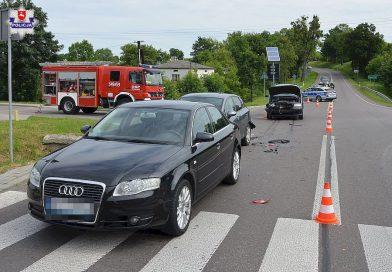TARNAWATKA Trzy uszkodzone samochody i dwie osoby poszkodowane