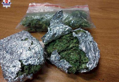 TOMASZÓW Wpadł z marihuaną
