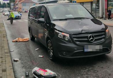 POWIAT Wypadki z udziałem pieszej i rowerzystek [FILM]
