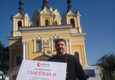 TOMASZÓW Będzie dokończenie remontu cerkwi za ponad 2 mln zł!