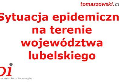 INFO Sytuacja epidemiczna na terenie województwa lubelskiego – 22 października