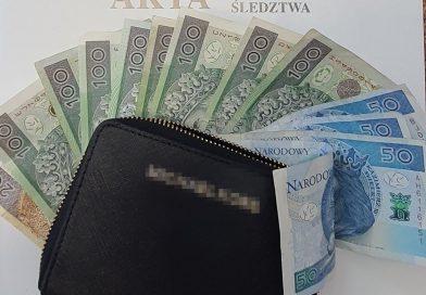 TOMASZÓW Zabrał znaleziony w koszyku portfel z gotówką. Teraz ma kłopoty