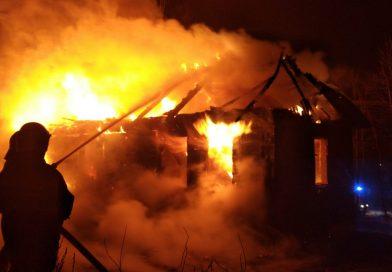 TYPIN Pożar budynku mieszkalnego