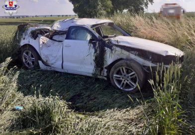 ULHÓWEK Nadmierna prędkość przyczyną wypadku