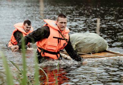 Terytorialsi i ratownicy wodni na wspólnym szkoleniu