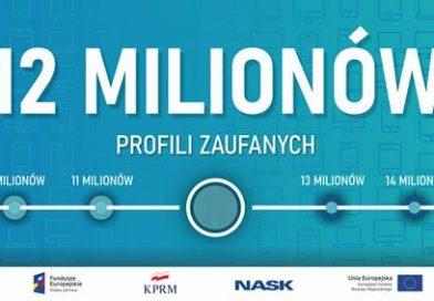 INFO 12 milionów Polaków z profilem zaufanym