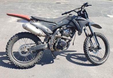 TARNAWATKA Nie posiadał uprawnień, a motocykl nie był dopuszczony do ruchu.