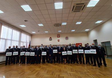 POWIAT OSP otrzymały dofinansowanie w kwocie 186 800 zł