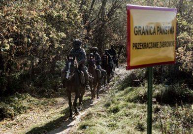 Patrole konne 2 LBOT na granicy